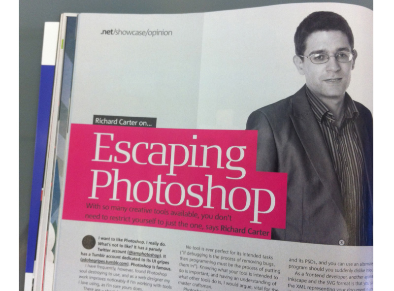 Richard Carter's article in .net magazine